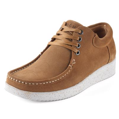 Nature Footwear Anna Suede Sko Toffee