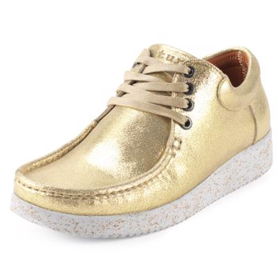 Nature Footwear Anna Metallic Sko Gold