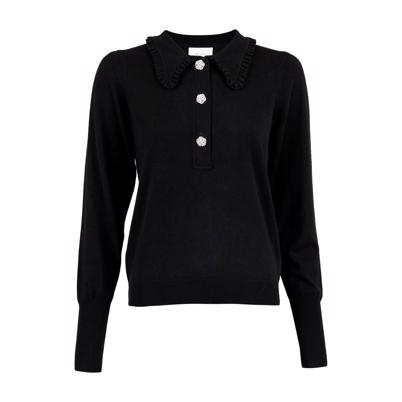 Neo Noir Gemma Diamond Bluse Black