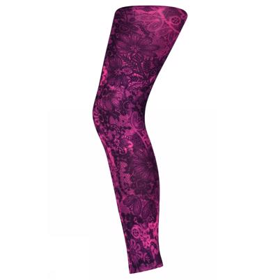 Sneaky Fox Lace FL Leggings Pink Glo