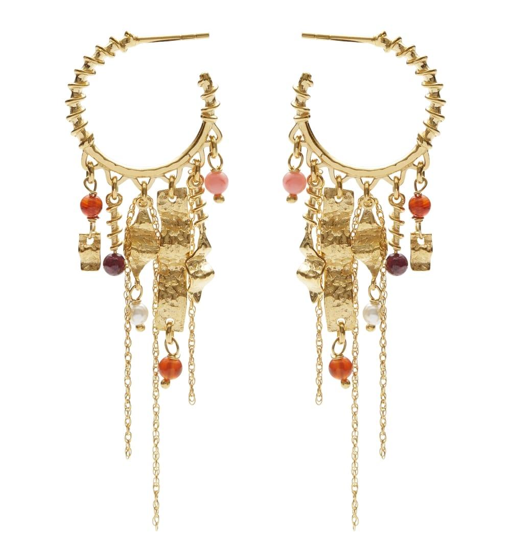 fa7033c00a0 Fina Øreringe, Guld ♡ Shop Smykker fra Maanesten ▷