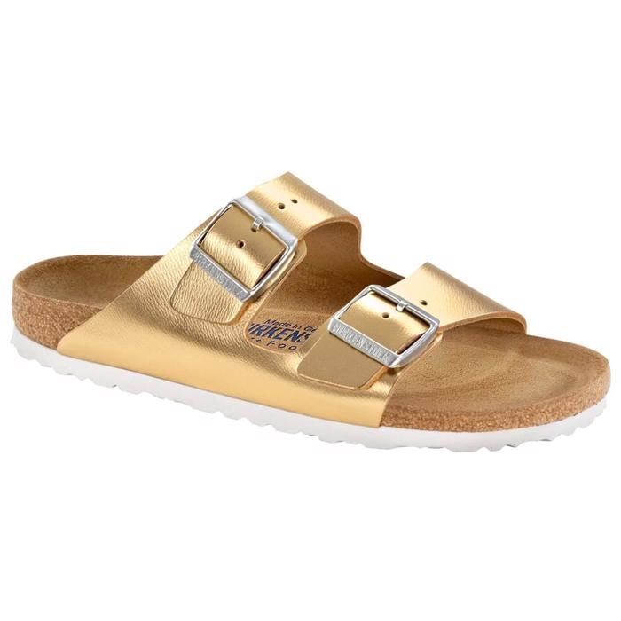 Birkenstock Arizona Sandaler Liquid Gold