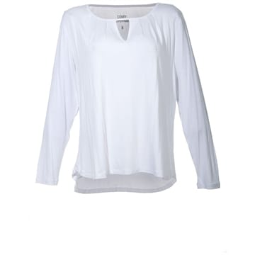 Comfy Copenhagen bluse Is this love optic white