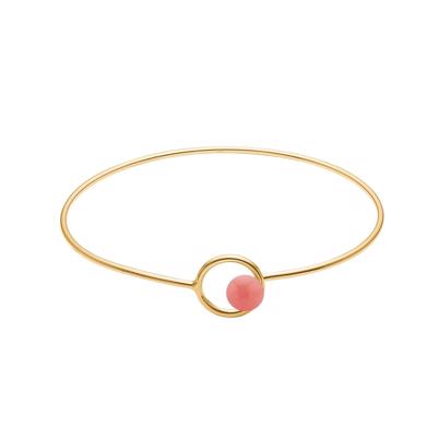 Eamel armbånd Ruby bangle pink