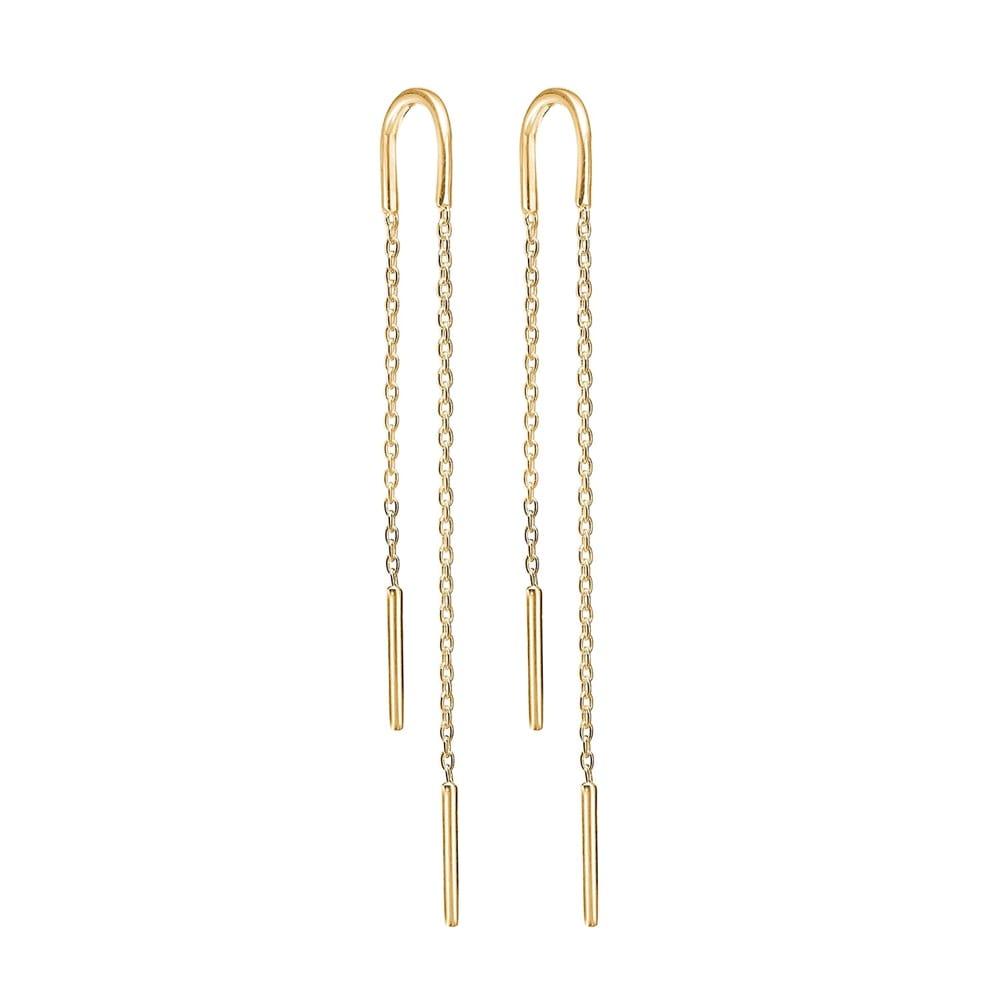 bc76f1c81fc Ørering Hoop Chain - shop Enamel smykker her