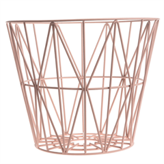 Ferm Living Wire Basket Rose Small