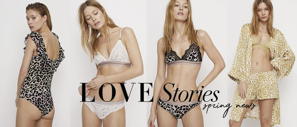 Shop Lingeri og Loungewear fra Love Stories Her