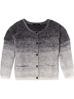 Scotch and Soda Chunky Mohair Cardigan Grå