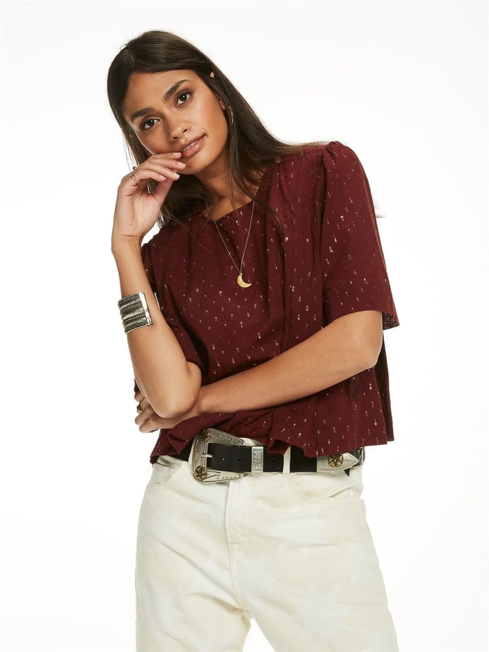 Scotch and soda bluse