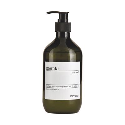 Meraki Bodywash linen Dew, 500 ml.