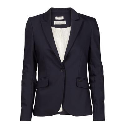 Mos Mosh Blake Night Blazer Sort
