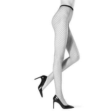 Oroblu Carry Fishnet Tights Sort