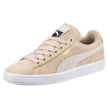 Puma Suede Classic Sneakers Safari White