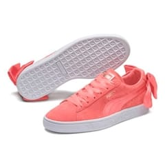 Puma Suede Bow Sneakers Shell Pink