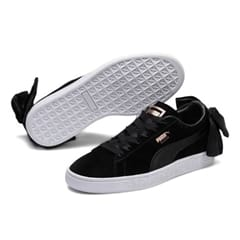 Puma Suede Bow Sneakers Sort
