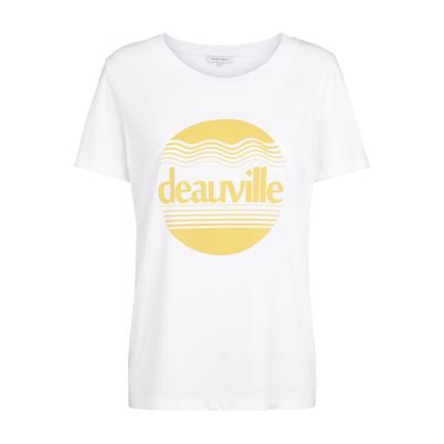 Second Female Deauville T-shirt Hvid