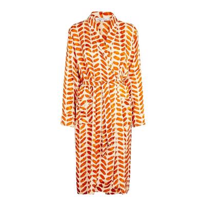 Second Female Stroke Kimono Orange Rust