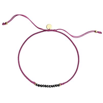 Stine a candy bracelet light cherry