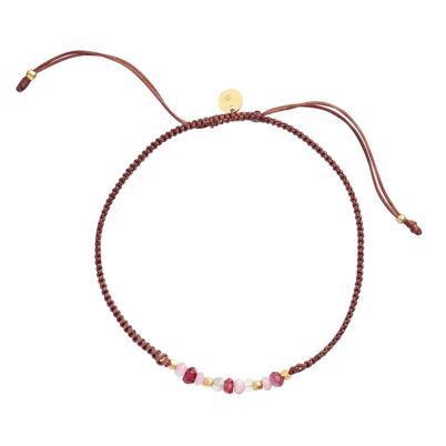 Stine A candy bracelet bordeaux