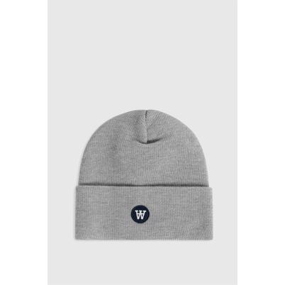 Wood Wood Gerald Tall Beanie Hue Grey