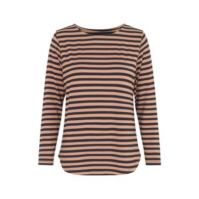 Comfy Copenhagen Still Of The Night Black Camel Stripe
