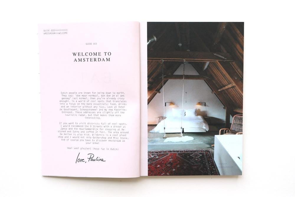 New Mags The Amsterdam Guide 003 Fashion Book - Shop Online Her
