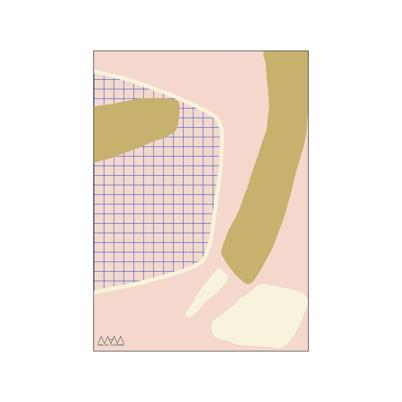 Poster and Frame MAM Plakat Abstract Gold 30 x 40 cm