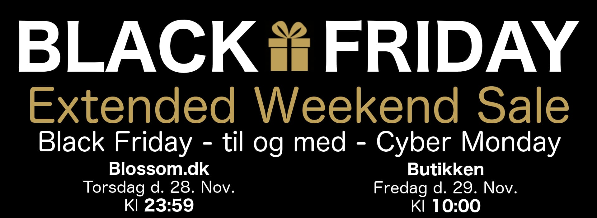 Maanesten black friday